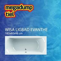 wavedesign Ligbad Evanthe 180X80 cm - Evanthe 180x80x48 cm