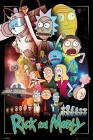 Rick and Morty Wars Poster 61x91,5cm