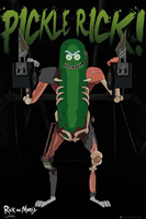 Rick and Morty Pickle Rick Poster 61x91,5cm