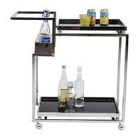 Kare Design Trolley Barfly Silver