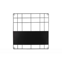 VTWonen Memo Board Magnetic Wire Black 60x60cm