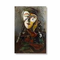 Picture Iron Artist Face Lady