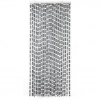 Arisol vliegengordijn Kattenstaart - 220x90 cm - grijs / wit