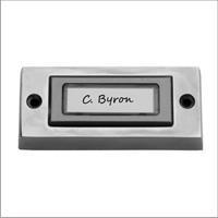 Smartwares deurbeldrukker met naamplaat