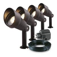 Garden Lights Focus Spot 12V Bundelset 4 st.