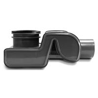 Easydrain sifon waterstop met waterslot 50 mm., zwart