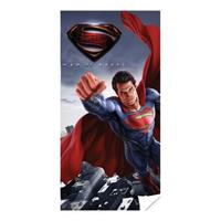 DC Comics badlaken Superman blauw 140 x 70 cm