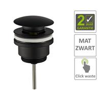 Boss&wessing BWS Clickwaste 5/4 Laag Mat Zwart