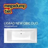 Aquaviva Ligbad New Qbic Duo 180X80X45 cm