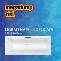 Aquaviva Ligbad Hatelli Delicata 180X80X45 cm Wit