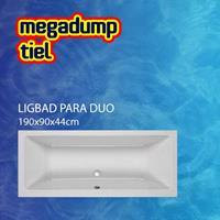 Aquaviva Ligbad Para Duo 190X90X44 cm