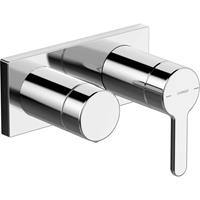 Hansa Designo afdekset voor 1-greeps badkraan chroom