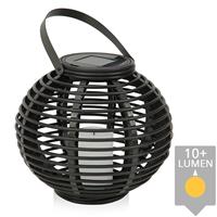 Slk Solar Lantaarn Basket Small Rotanlook lamp op zonne energie 2017