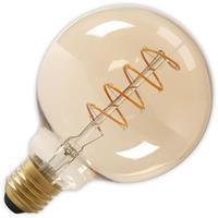 LED volglas Flex Filament Globelamp 240V 4W 200lm E27 G125, Goud 2100K Dimbaar