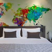 Fotobehang - Wereld in kleuren