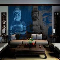 Fotobehang - Drie incarnaties van Boeddha
