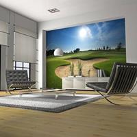 Fotobehang - Golf veld