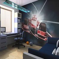 Fotobehang - Snelheid en dynamiek van de Formule 1