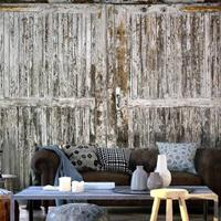 Fotobehang - Oude deur