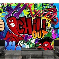 Fotobehang - Chili out - Graffiti