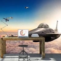 Fotobehang - F16 Fighter Jets