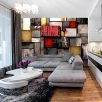 Fotobehang - Kleurig Home - Thuis