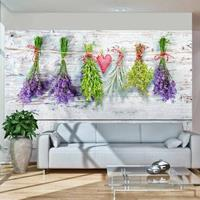 Fotobehang - Lente in huis