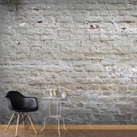 Fotobehang - Witte muur , wit