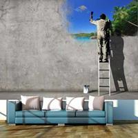 Fotobehang - Creatief proces - Banksy