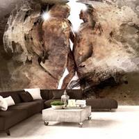 Fotobehang - Verborgen liefde , wit bruin