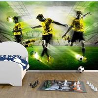 Fotobehang - Laten we spelen ! , Voetbal