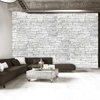 Fotobehang - Witte stenen