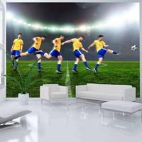 Fotobehang - Great footballer, voetbal