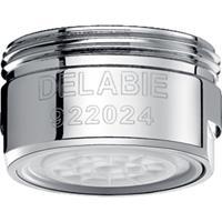 Delabie Anti-kalksteen straalbreker vooraf ingesteld op 3 l/min Chroom M24/100 922024.2P