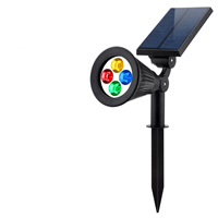 Slk Solar spot Highlight RGB multicolor voor wandmontage of grondspies