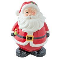 Clayre & Eef Voorraadpot kerstman 18x17x25 cm / 1,5L