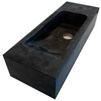 Lambinidesigns Slim losse fontein 45x17cm natuursteen rechts