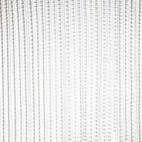 Deurgordijn grijs transparant 93 x 220 cm - Vliegen/insecten gordijn