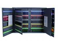 Sleutelkast  XL tweedeurs 300 haken 720x540x140mm