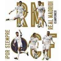 Real Madrid muursticker Group 8 stuks