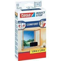 Tesa Insectenhor  55396 voor raam 1,3x1,3m zwart