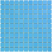 Thermic Mozaïektegel The Mosaic Factory Barcelona 23x23 mm Porselein Blauw