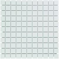 Thermic Mozaïektegel The Mosaic Factory Barcelona 23x23 mm Porselein Extra Wit
