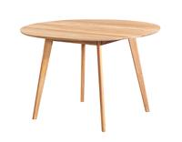 Nordiq Yumi dining table - Ronde eettafel - Eikenhout - Ø115 x H74 cm