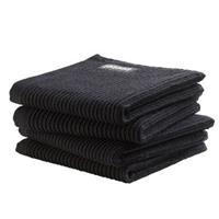 DDDDD Vaatdoek Basic Neutral Black (4 stuks)