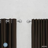 Lifa Living gordijnen Ringen - Bruin