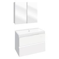 Thecollection Badmeubelset  The Collection 60x43x61 cm Wit/Wit (Met spiegelkast)