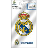 Real Madrid stickers logo 2 stuks