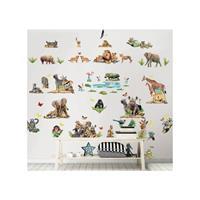 Muursticker Jungle Safari Walltastic 82 stickers