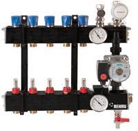Rehau RAUTHERM regelunit vloerverwarming, kunststof, (bxhxd) 510x480x170mm
